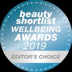 Beauty Shortlist Wellbeing awards 2019 editors choice
