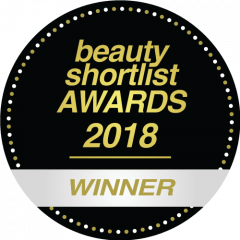 Beauty Shortlist Wellbeing awards 2018 winner