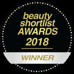 Beauty Shortlist Wellbeing awards 2018 winner