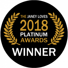 The Janey Loves Platinum Award Winner